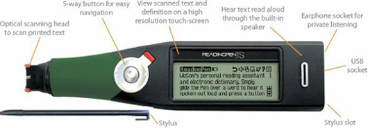 Readingpen TS (Touch Screen) Details